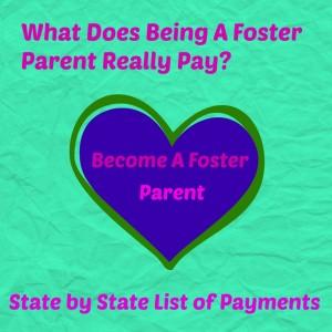 how much is the pay to be a foster parent?