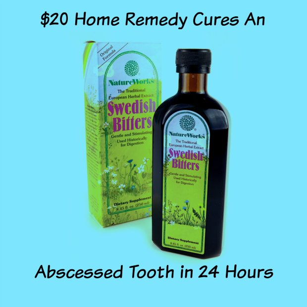 how to get rid of a tooth abscess swelling